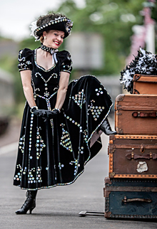 Fiona Harrison Underneath The Arches Pearly Queen Show