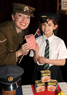 Fiona Harrison - Wartime Rationing!