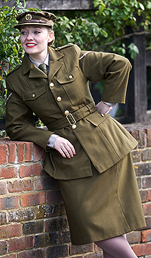 Fiona Harrison - Dressed for Duty!
