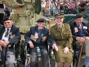 Me with the Normandy Veterans