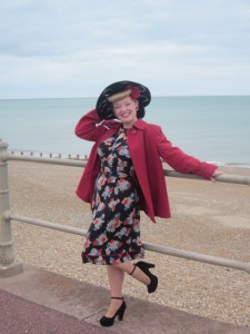 Me out and About in Hastings