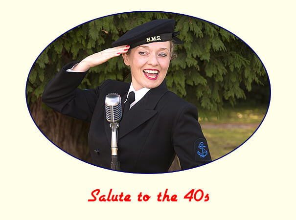 Fiona Harrison Salute to the 40s