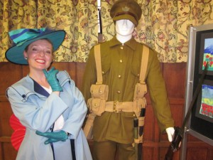 Me at The Heros of Moreton Exhibition!