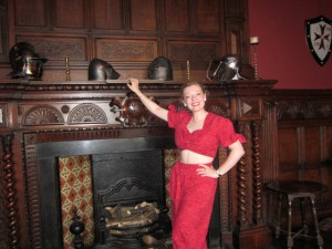 Me at Wythenshawe Hall
