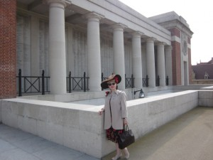 Fiona Harrison at the Mennen Gate