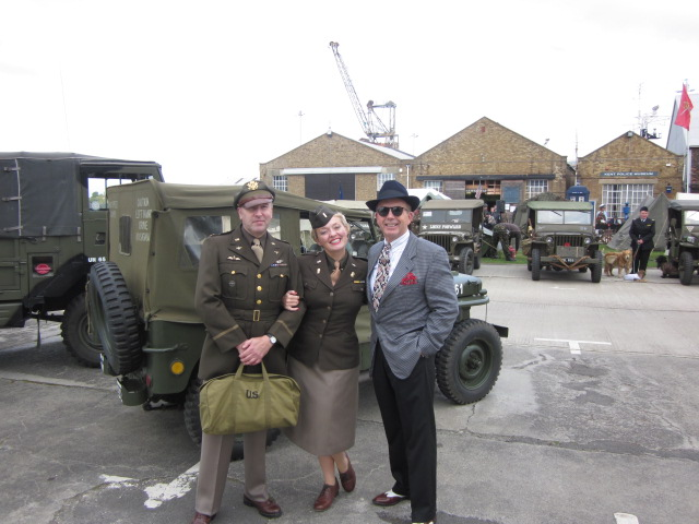 Going American At Salute To The 40s