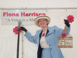 Me performing at Leighton's WW1 Centenary!