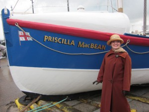 "Me with ""Priscilla Mac Bean"""