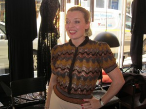 Me In One Of Anne's 1940s Jumpers!