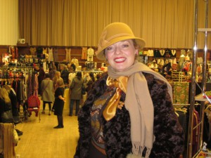 Me Shopping for Vintage Fashion at Hammersmith Town Hall!