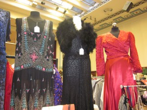 Dresses at Hammersmith Vintage Fashion Fair!