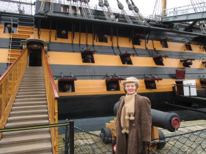 Nelson's Flag Ship HMS Victory!