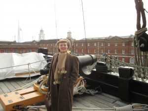 Me On Board HMS Victory!
