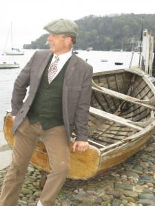 Paul Doing His Male Model Thing in Dartmouth!