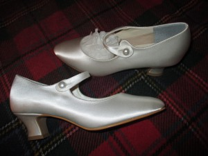 My 1920s Satin Shoes!