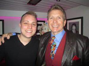 Paul with Sound Engineer Adam!