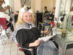 Back in the Hair Dressers!