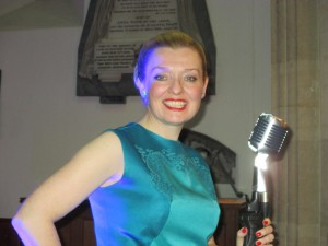 On Stage Singing the 60s!