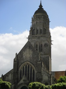 The Church of Ste Marie du Mont!