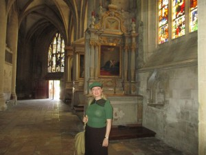 Visiting the Church of Carentan!