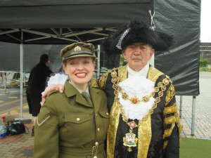 Me with the Lord Mayor of Birmingham