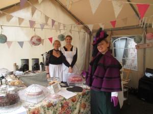 Taking Tea in Llandrindod Wells!
