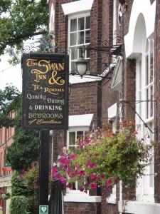 The Swan at Tarporley!