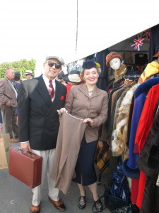 Shopping for Vintage at Goodwood!