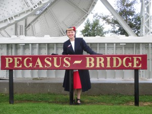 Out and About at Pegasus Bridge!