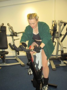 Me Going For It On The Bike!