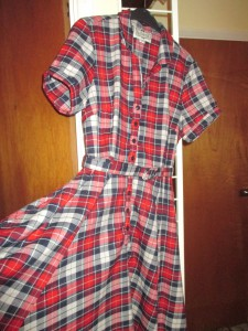 My New 50s Tartan Check!