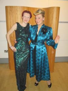 Fiona Harrison and Sian Walters