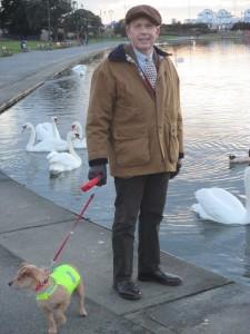 Paul Marsden with Poppy