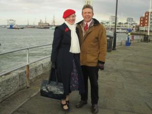 Fiona Harrison and Paul Marsden