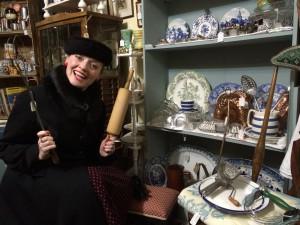 Fiona Harrison with Rachel's Preloved and Vintage