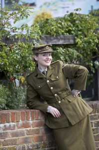 Fiona Harrison in ATS Uniform