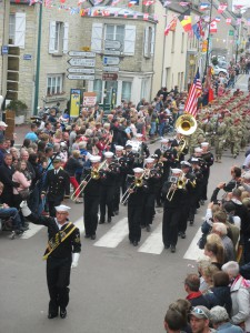 The Military Parade Ste Mere Eglise!