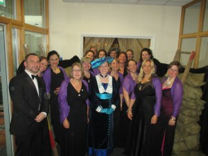 Me with The Military Wives Choir!