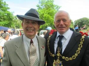 Paul with the Mayor!