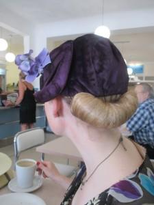 Wearing My New 1920s Hat From Flywheel!