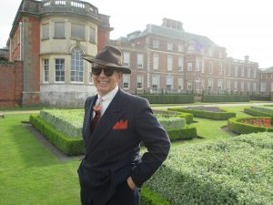 Paul Outside Wimpole Hall!