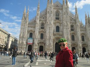 Outside The Duomo!