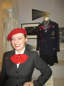 A 1940s Wedding Dress and a School Blazer of Wartime Badges!