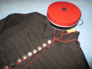 My Uniform and Pill Box Hat