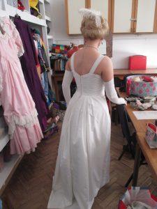 Getting Ready to Film Vilia!