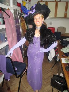 Backstage in Costume for I'll Make a man of You!
