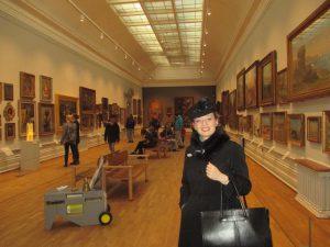 Inside Nottingham Castle Art Gallery!