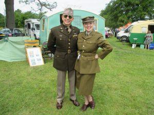 Me as Vera & Paul as GI Joe!