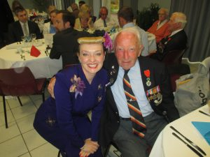 Me with D-Day Veteran Reg Charles!