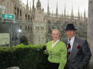 Fiona harrison and Paul Marsden Looking Over The Duomo